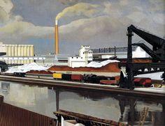 American Landscape, 1930, Charles Sheeler
