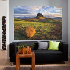 Brewster Home Fashions Iceland Mural 4'2x6 - easy peasy everything, great price!!