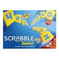 Scrabble Junior (Скрэббл Джуниор), Mattel