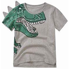puerhki T-Shirt Casual 3D Printing Summer Unisex Children Loose Game Pattern Short Sleeve