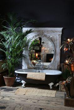 50 Trending 2018 Jungle Bathroom Design - Home Design House Design, Bathroom Design Luxury, House, Tropical Bathroom, Bathroom Interior Design, Bathroom Decor, Home, Jungle Bathroom, Hersham