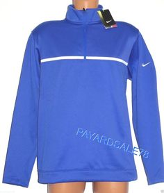 MEN'S MEDIUM NIKE GOLF TOUR PERFORMANCE THERMA-FIT MOCK WARM JACKET SWEATSHIRT #Nike #Sweatshirt Golf Tour, Nike Golf, Cool Things To Buy, Stuff To Buy, Nike Running, Nike Jacket, Fashion Outfits, Sweatshirts, Warm
