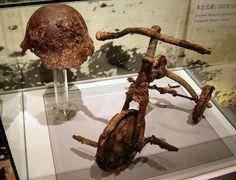 Hiroshima Peace Memorial Museum: Bike and Helmet