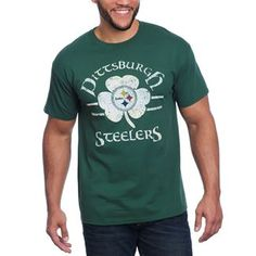 Show details for Pittsburgh Steelers Celtic Shamrock Tee
