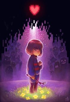 These are going to be your friends, Frisk!