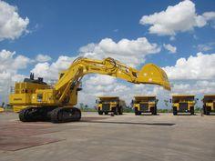 A pic of an excavator from Komatsu ... enjoy http://www.machineryzone.com/