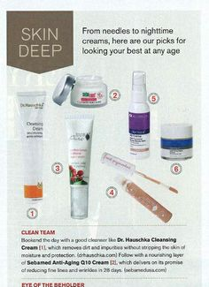 """Cleansing Cream is featured in the December 2013 issue of Watch! Magazine from the CBS television network.  The product is included in a round-up of editors' """"picks for looking your best at any age"""" with Cleansing Cream recommended to """"remove dirt and impurities without stripping the skin of moisture and protection."""""""