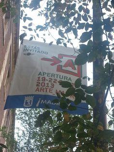 Cartel de Apertura Madrid 2013 #Cartel #Affiche #Arterecord https://twitter.com/arterecord