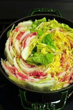 晩ごはん de ストウブ 豚肉と白菜の蒸し煮 とイベントのお知らせ : おいしい暮らし
