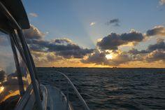 Sunset in Grand Cayman   factorfiftyella.wordpress.com   #grandcayman #sunset #landscape #boat #ocean #photography