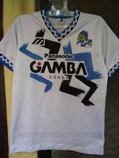 Gamba Osaka Treino/Passeio camisa de futebol 1993 - 1994