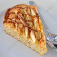 Gâteau aux pommes arrosé de salidou - Dans la cuisine d'Audinette