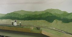 Painting Appalachian Mountain Scenery   Model Railroad Hobbyist magazine   Having fun with model trains   Instant access to model railway resources without barriers