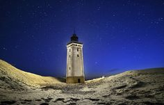 Rubjerg Knude Lighthouse - located on the coast of the North Sea in Rubjerg, in the Jutland municipality of Hjørring in northern Denmark