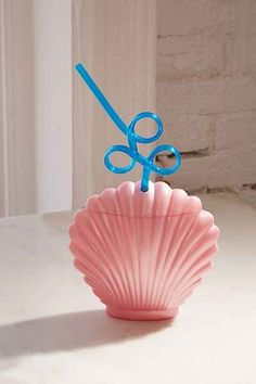 Shop Shell Sipper Cup at Urban Outfitters today. We carry all the latest styles, colors and brands for you to choose from right here. Deco Disney, Mermaid Room, Mermaid Cup, Mermaid Gifts, Unicorns And Mermaids, Cute Cups, Just Pretend, Mermaid Tails, Urban Outfits