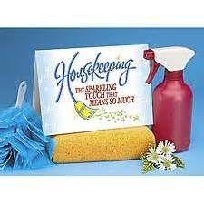 housekeeping ideas