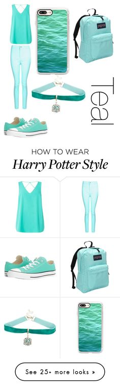 """""""."""" by hamiltrash28 on Polyvore featuring Boohoo, Dorothy Perkins, Converse, Casetify, Warner Bros. and JanSport"""
