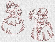 More Sunbonnet Sue