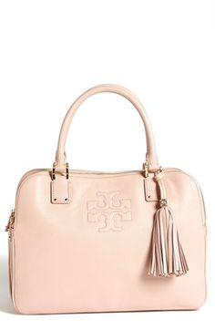 Tory Burch 'Thea' Satchel available at #Nordstrom...this one has all the right pockets.