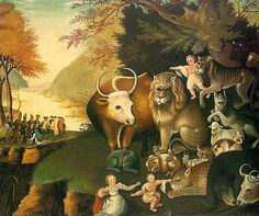 Peaceable Kingdom (Picture by Edward hicks)