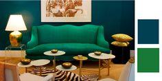 Anthony Todd - emerald sofa