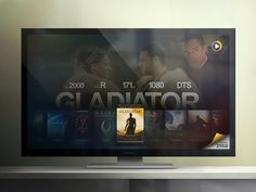 XBMC interface concept