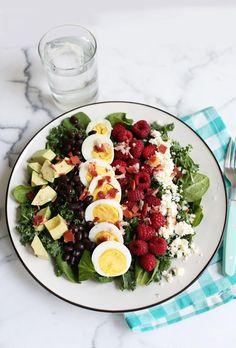 Kale Cobb Salad   via A Beautiful Mess