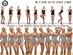After numerous requests to have my pose pack made for in Game, i decided to make them available. Please note that these poses are for IN GAME only and not for CAS. Found in TSR Category 'Sims 4 Mods'