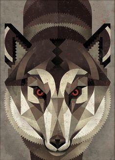 Wolf by Dieter Braun