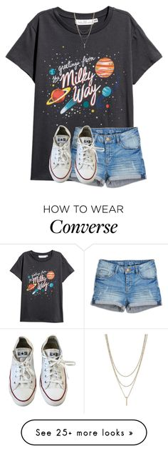"""Summer contest!"" by preppyandperfect on Polyvore featuring Converse"
