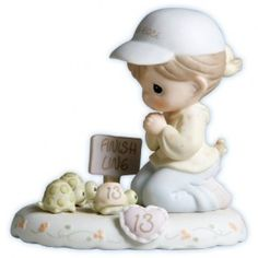 Growing In Grace Age 13 Figurine - Growing In Grace - Figurines - Precious Moments