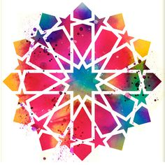 This is an Archival Print of my original watercolor painting 12 pointed star Islamic geometric with minimal digital art enhancement and editing. Signed on the front. My archival prints are high quality and are professionally printed with archival pigment inks on a heavy weight, archival and acid free paper. Frame and matte are for demonstration purposes only, your print will arrive ready for your own special touch and will fit in standard size frames. All art is safely packaged in a clear…