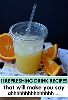 Great drink recipes to keep you fresh for summer! Refreshing drink ideas for your next outdoor party!