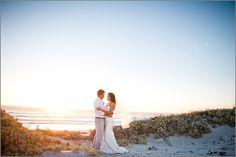 West Coast wedding perfection ~ Strandkombuis wedding venue