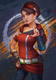 Tales from the Borderlands. Sasha - by dandelion-s