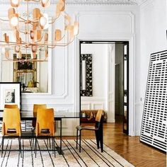 19th Century Parisian apartment photographed by @gaelleleboulicautpics