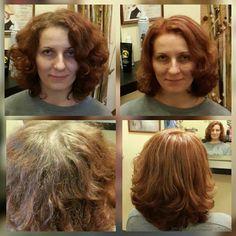 Колорирование после окрашивания хной | Студия красоты Талия, салон красоты, парикмахерская