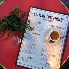 Try La Place Saint-Georges - it is one of the best places to grab a cup of coffee in Paris! Paris Travel, France Travel, Best Cafes In Paris, St Germain Paris, Paris Things To Do, Coffee In Paris, Paris Food, Cute Cafe, Paris Cafe