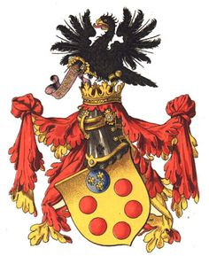 Find history and anecdotes about the Medici family, Grand Dukes of Tuscany and lords of Florence, Italy during the Middle Age and the Renaissance. Italian Pronunciation, Grand Duke, Italian Renaissance, Family Crest, Crests, 14th Century, Coat Of Arms, Middle Ages, Images