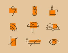 Service Signs by Omar Shammah, via Behance