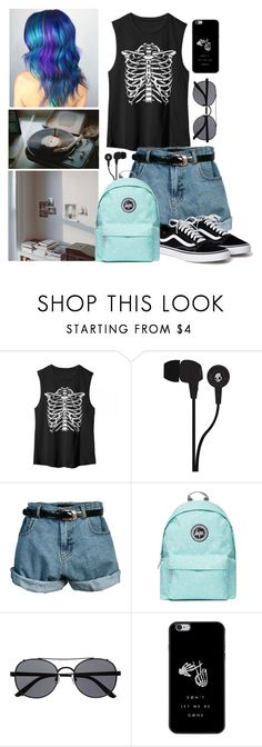 """""""Untitled #72"""" by aure-white ❤ liked on Polyvore featuring Skullcandy, Retrò, Topshop and Witchery"""