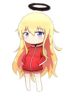 chibi gab chan by Xanchi on DeviantArt Kawaii Chibi, Anime Chibi, Kawaii Anime, Anime Art, Anime Titles, Anime Characters, Mbti, Gabriel Dropout, Anime Sketch