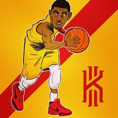 Kyrie Irving 'Big In Japan' Illustration - Karmo Ruusmaa