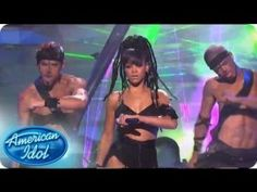 Rihanna performs her hit,