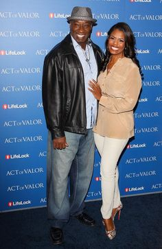 Omarosa Manigault-Stallworth and Michael Clarke Duncan.... May he rest in peace....