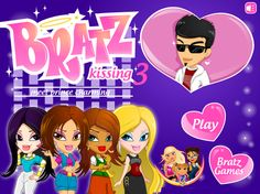 Bratz Kissing Game - Dressup24h Kissing Games, Games For Girls, Prince Charming, Games To Play, Family Guy, Kids, Fictional Characters, Young Children, Boys