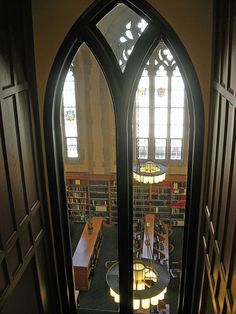 Reading Room in Yale Law Library