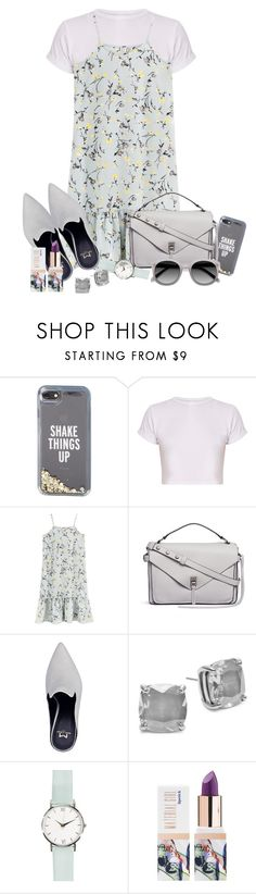 """Untitled #1841"" by ebramos ❤ liked on Polyvore featuring Kate Spade, Rebecca Minkoff, Teeez and Ace"