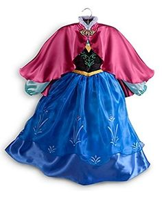 Disney Store Frozen Princess Anna Costume Size Small 5/6 - 5T  - Click image twice for more info - See a larger selection of kids halloween costume at http://costumeriver.com/product-category/kids-halloween-costumes/ -  holiday costume , event costume , halloween costume, cosplay costume, classic costume, scary costume, super heroes costume, classic costume, clothing