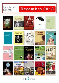 Novelas e libros de materias, dispoñibles na Biblioteca Os Rosales dende o 2 de decembro.